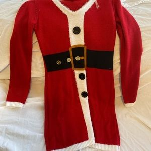 Mrs. Clause Sweater Dress
